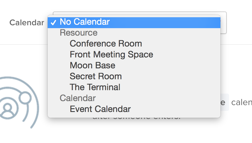 Expanded calendar resources