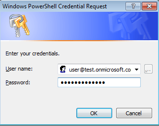 Powershell login for Office 365