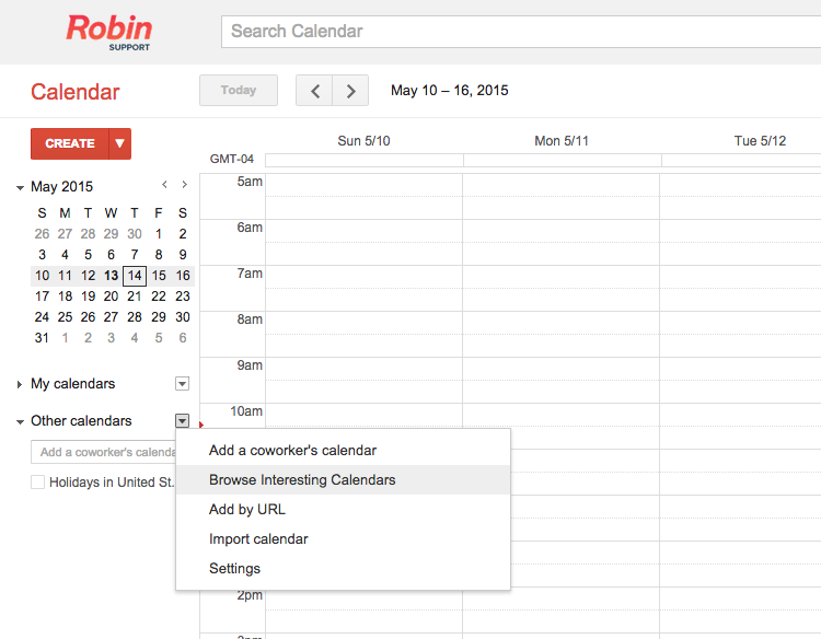 Find resource calendars in Google Apps